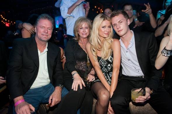 Rick_Kathy_Paris_ Barron Hilton at Marquee