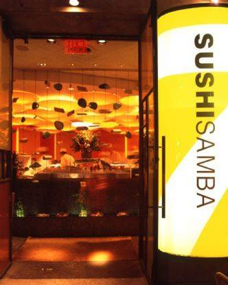 Sushi Samba 7 exterior