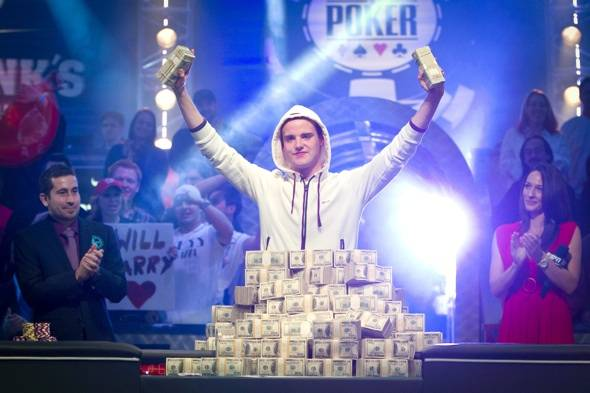 WSOP 2011 Main Event Champion Pius Heinz