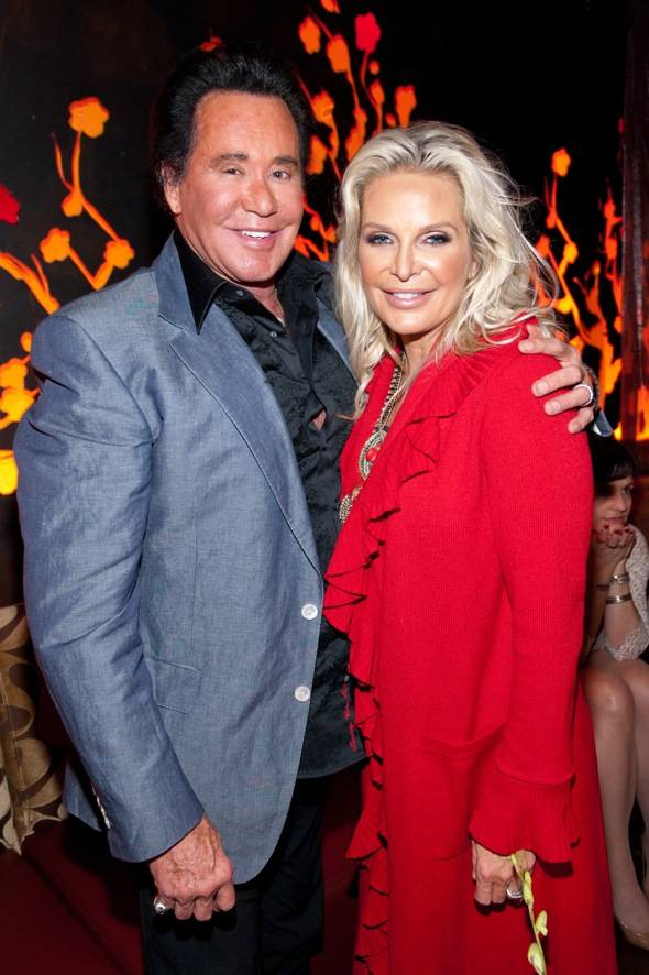 Wayne Newton and Kathleen Newton