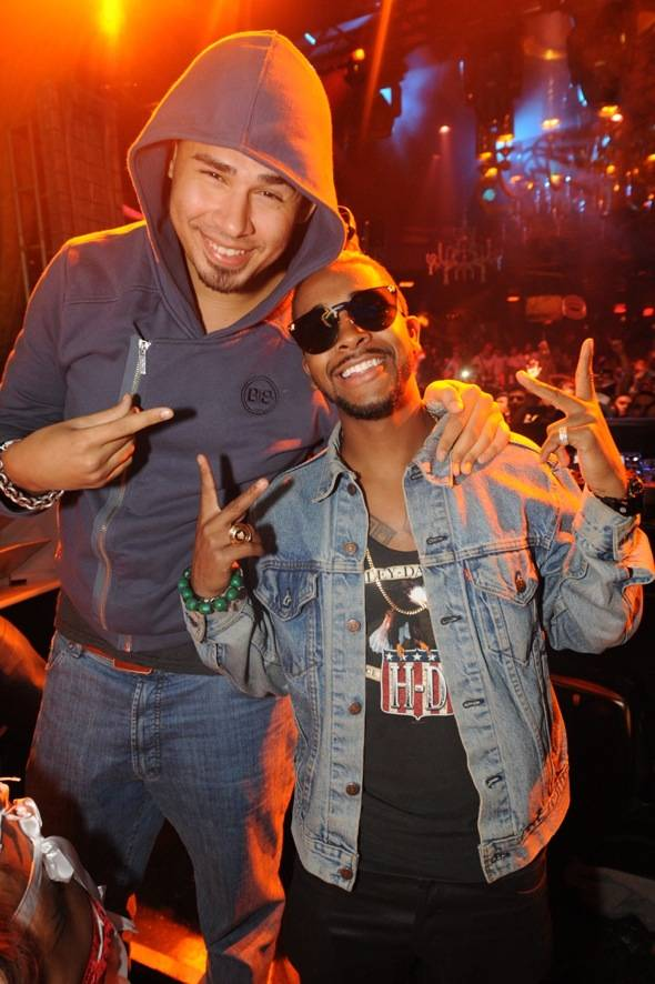 XS Nightclub - Afrojack and Omarion