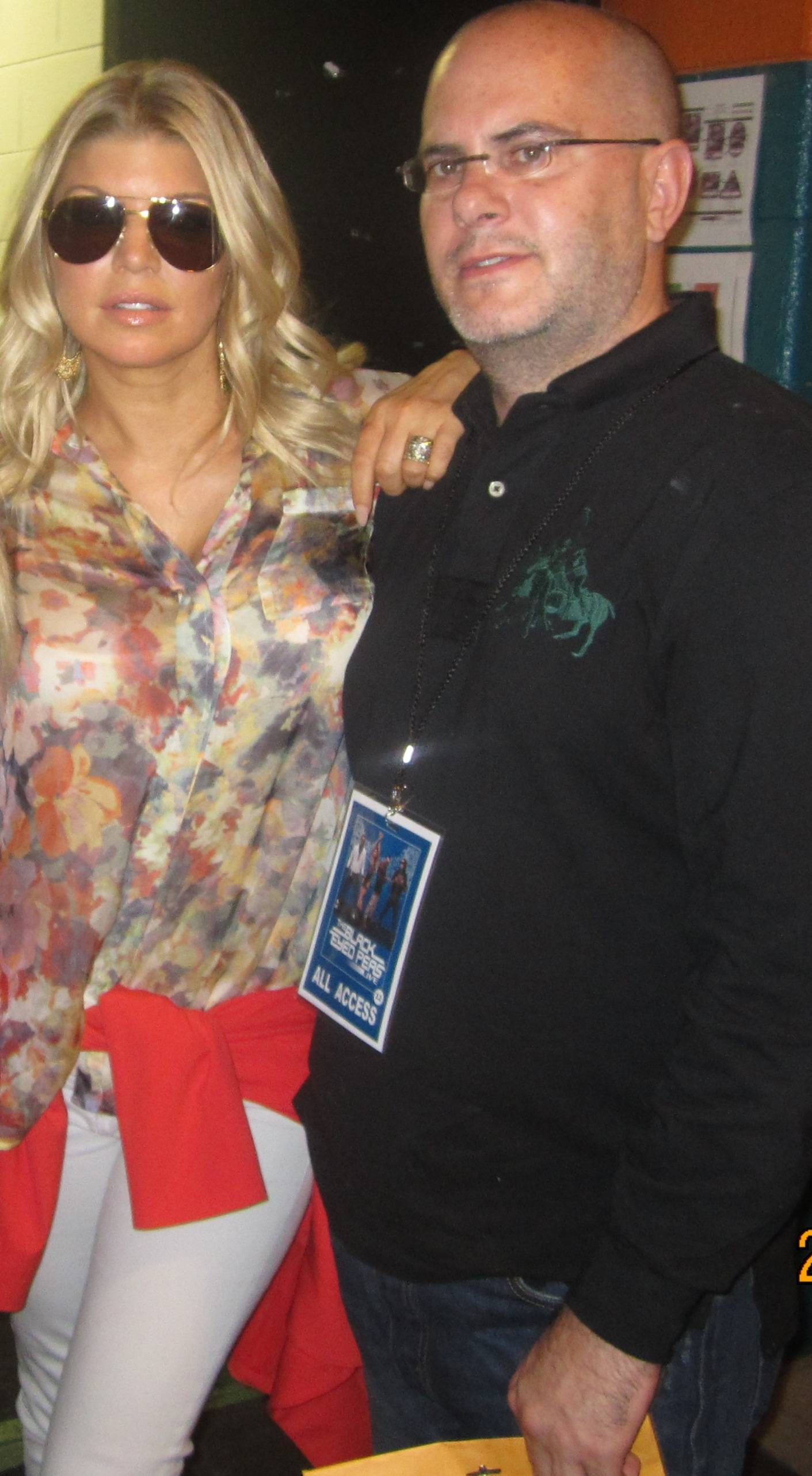 producer mike jurkovac and fergie