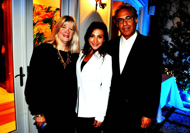 02 Diane N. Weiss, Michelle Lynn, and Bob Rook at the Penn Medicine event