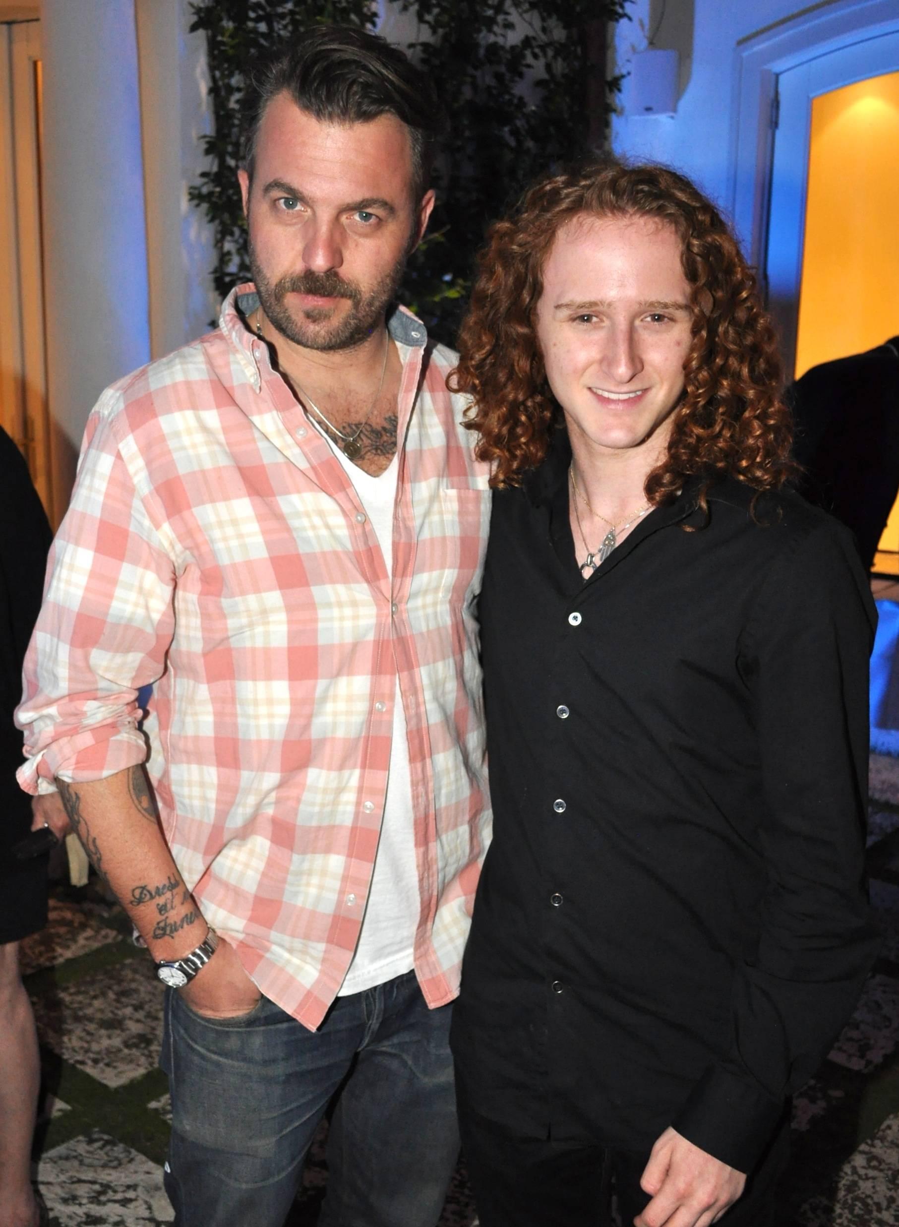07 Photographer Wyatt Neumann with American Idol Season 10's Brett Loewenstern