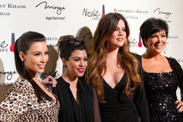 Kim Kardashian, Kourtney Kardashian, Khloe Kardashian and Kris J