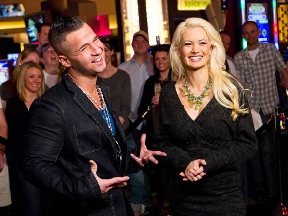 Mike 'The Situation' Sorrentino and Holly Madison