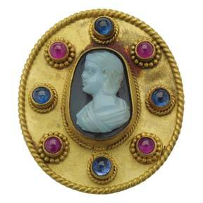 Cameo Antiquity Brooch
