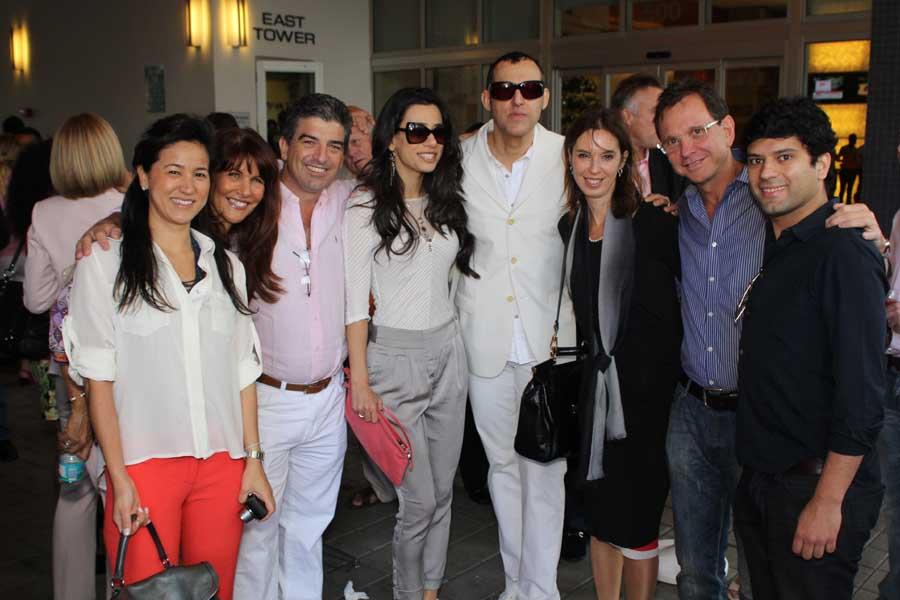 Camila Tariki, Sonia Figueroa, Carlos Rosso, Ivana & Karim Rashid