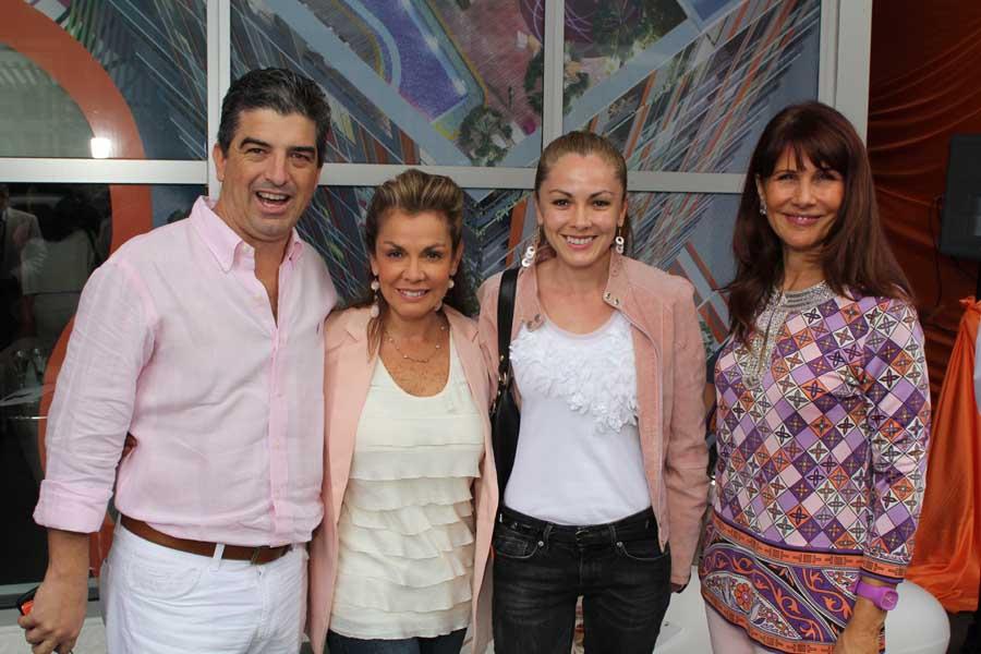 Carlos Rosso, Margarita Restrepo, Patricia Restrepo, Sonis Figueroa