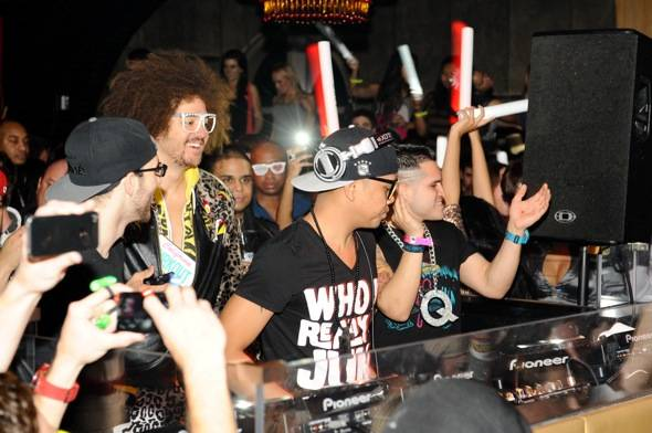 DJ Chuckie with Redfoo_Party Rock Crew_LAVO