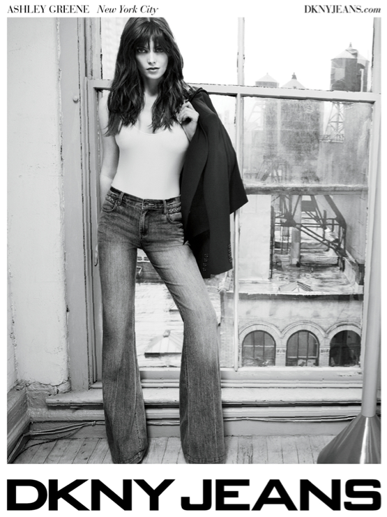 DKNY Jeans_Ashley Greene_Spring2012AdCampaign