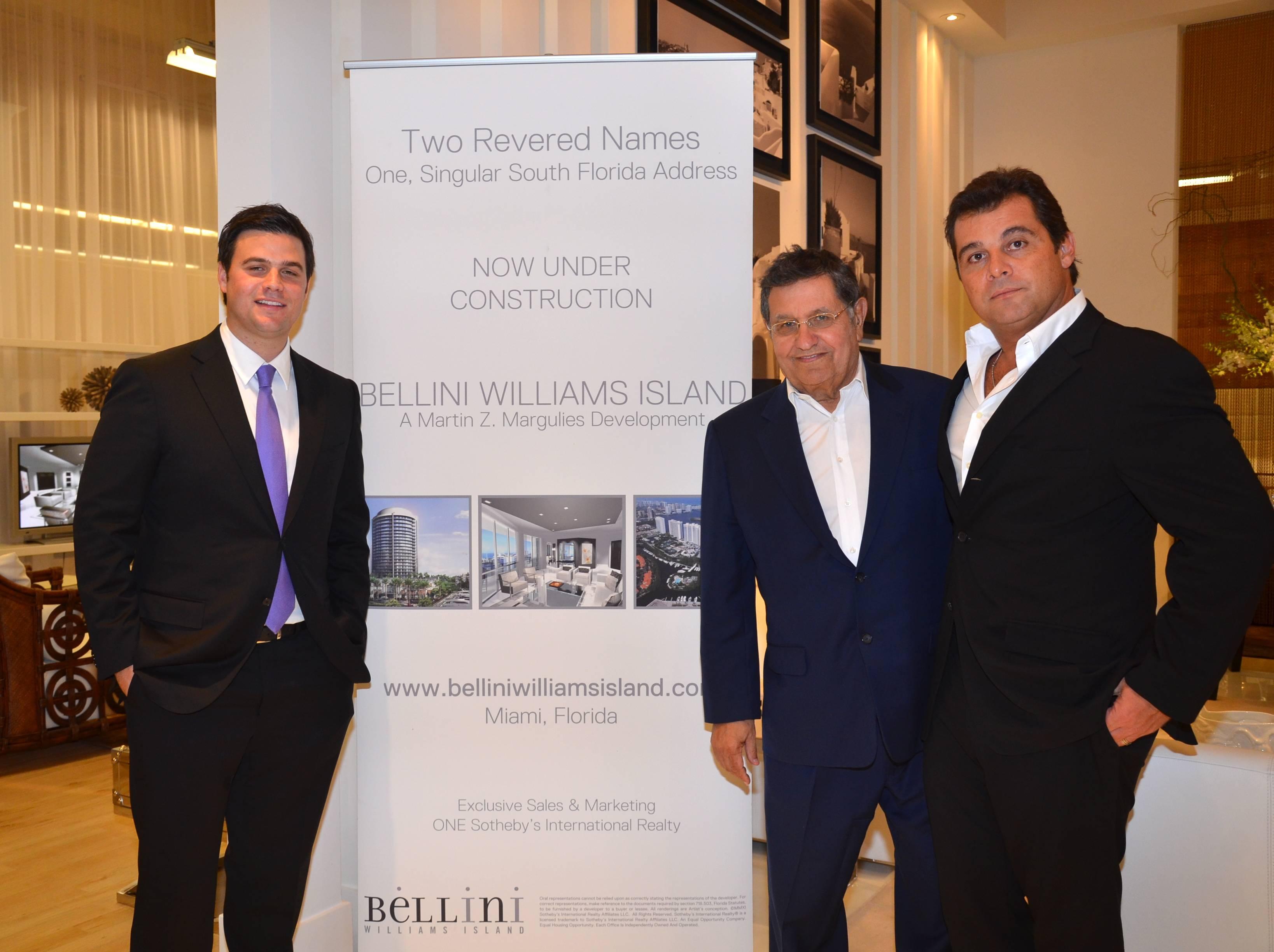 Daniel de la Vega, Martin Z. Margulies and Paulo Bacchi
