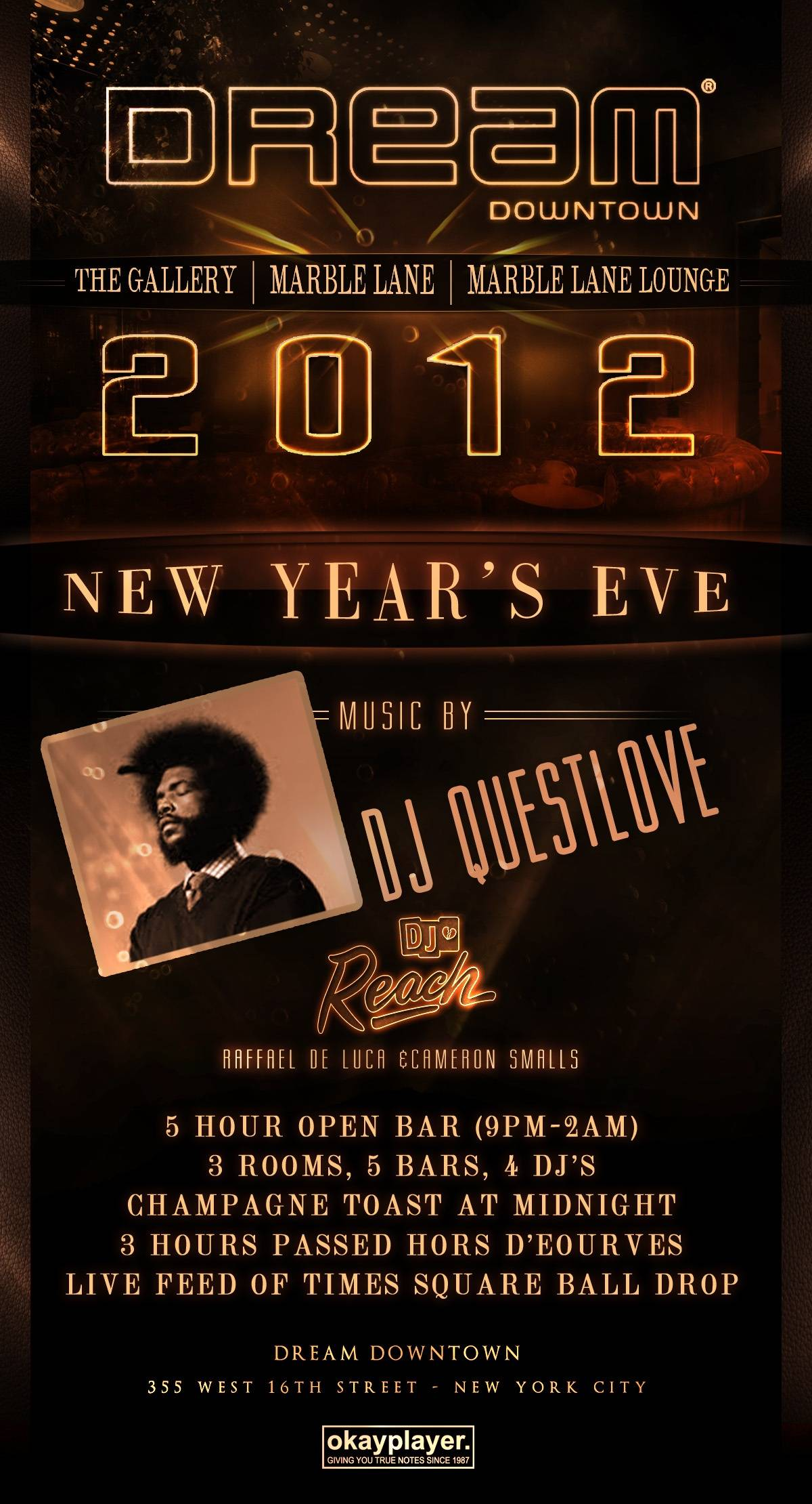 Dream Downtown New Years Eve