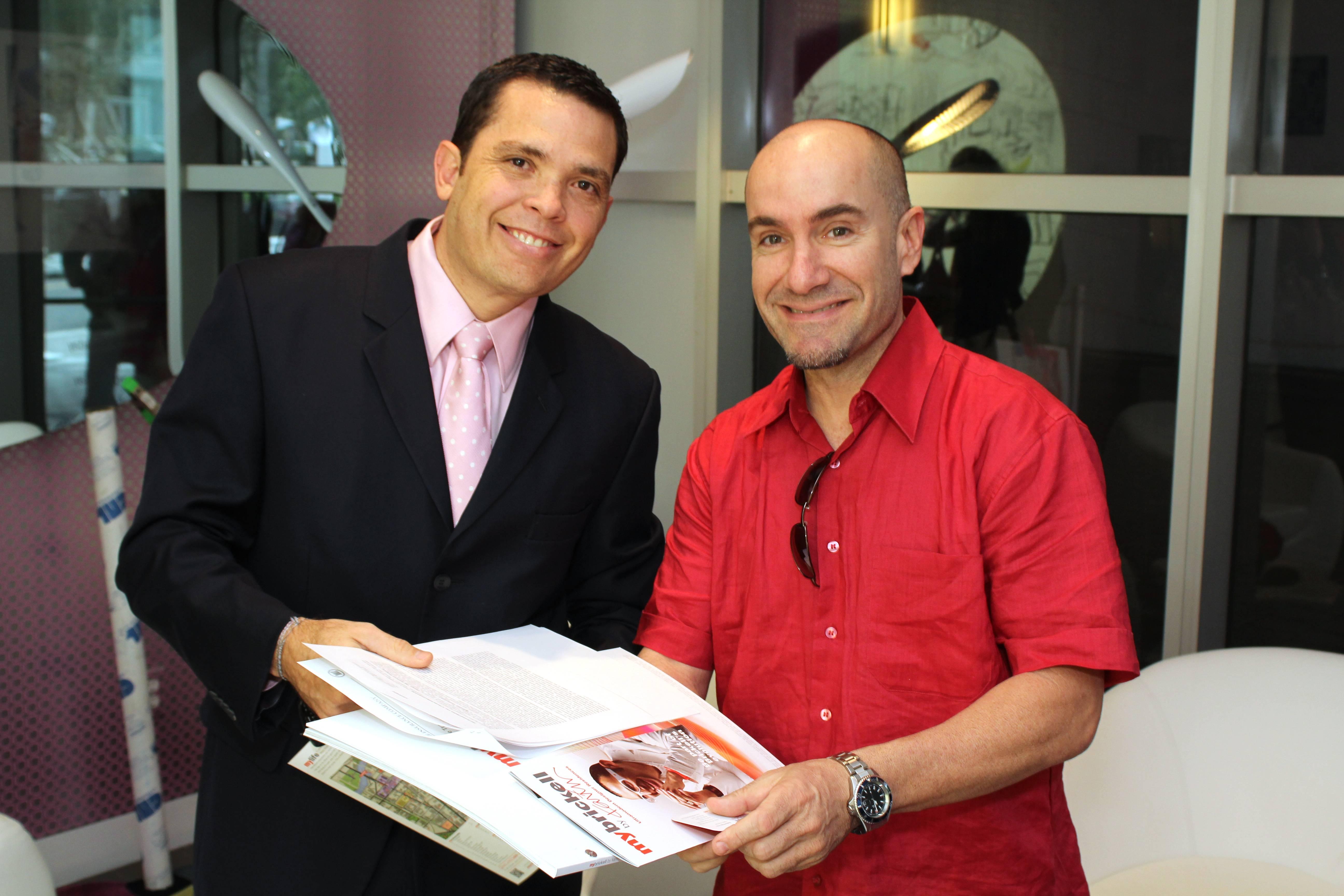 Hector Pinto.Frank Moya