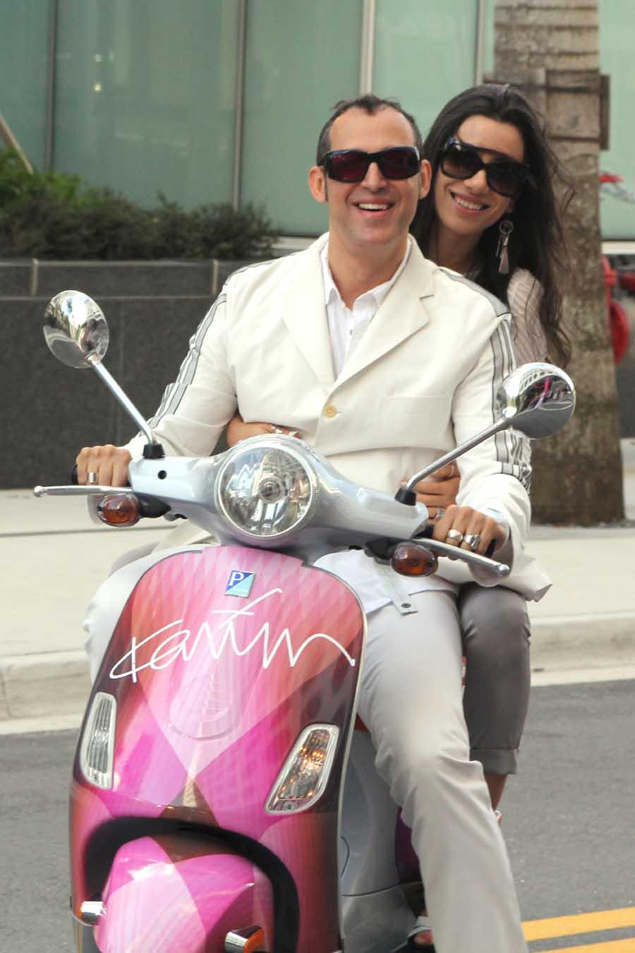Ivana & Karim Rashid