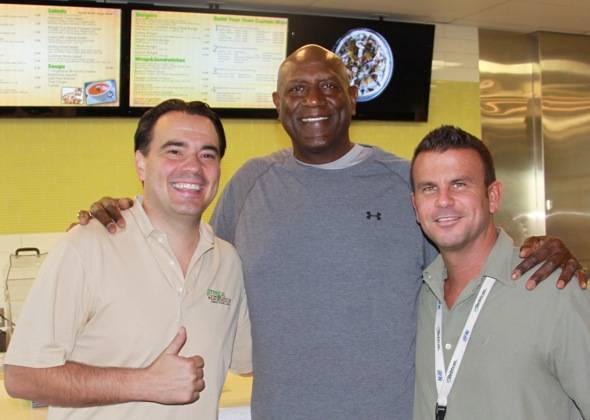 Jeff Kovatch_Spencer Haywood_John Kinney_Greens and Proteins