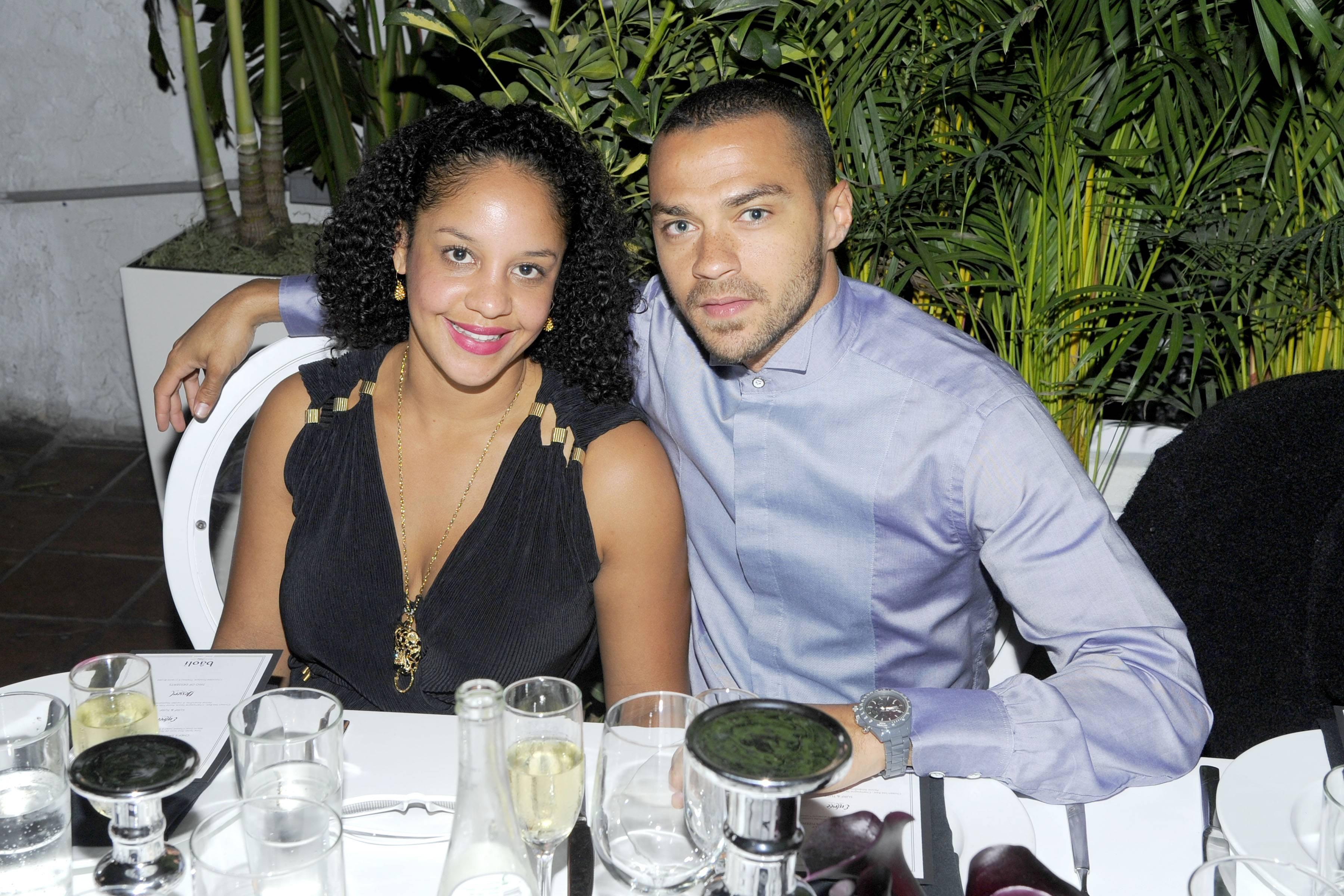 Jesse Williams and fiancee Aryn Drake-Lee