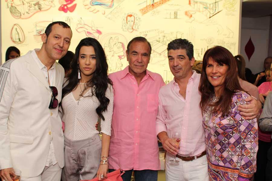 Karim & Ivana Rashid, Jorge Perez, Carlos Rosso, Sonia Figueroa