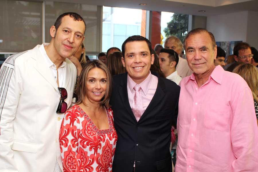Karim Rashid, Ana Tajes, Hector Pinto, Jorge Perez