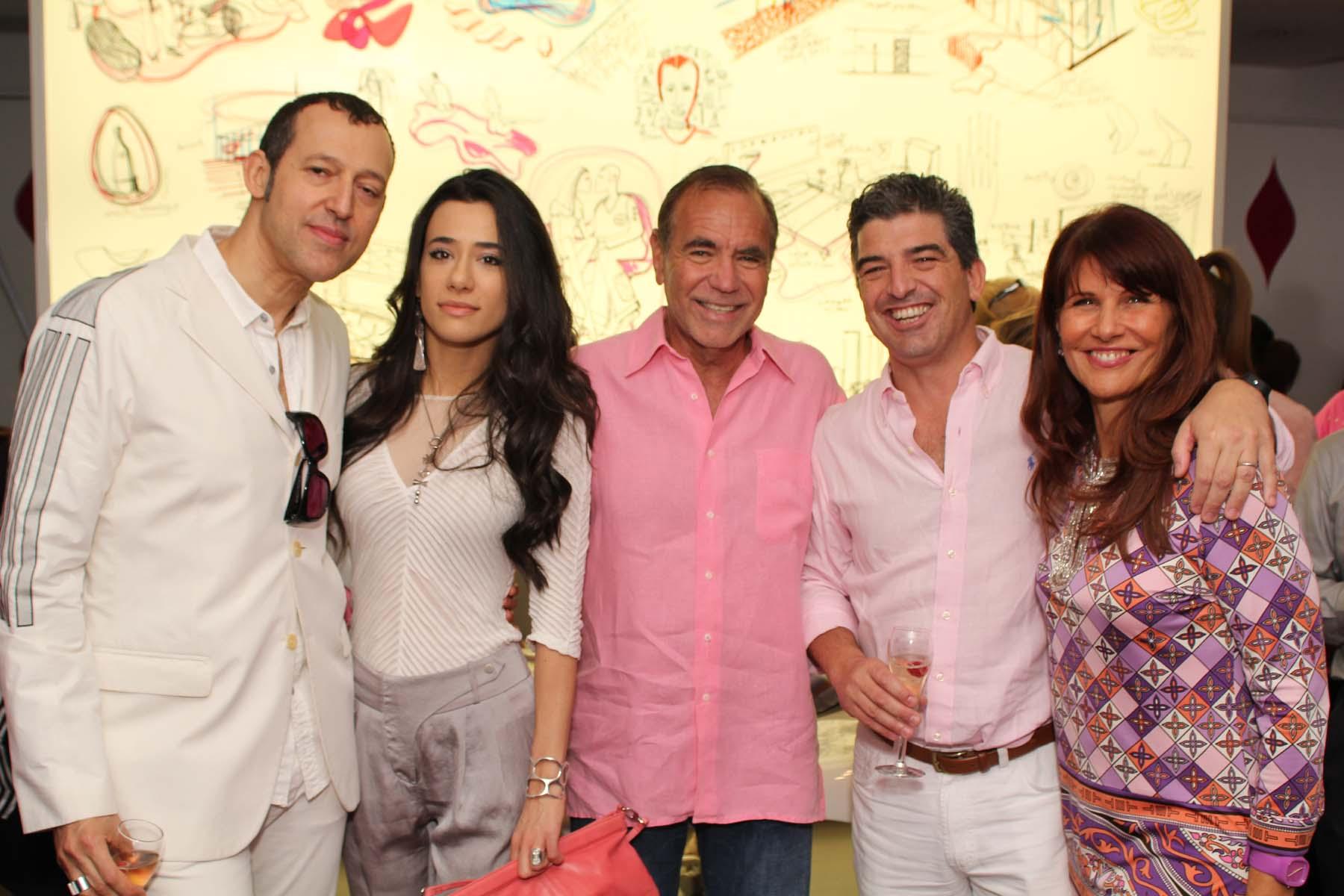 Karim Rashid, Ivana Puric, Jorge Perez, Carlos Rosso, Sonia Figueroa