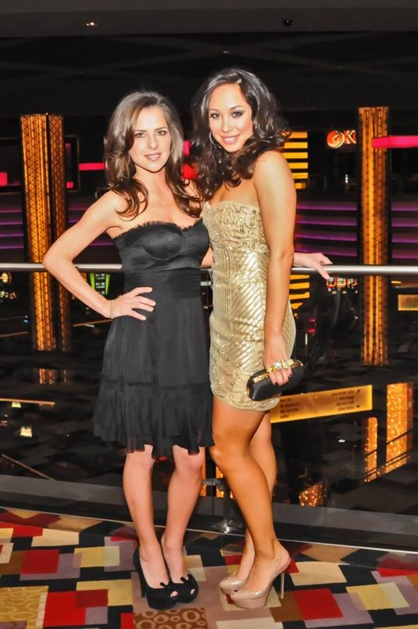 Kelly Monaco and Cheryl Burke