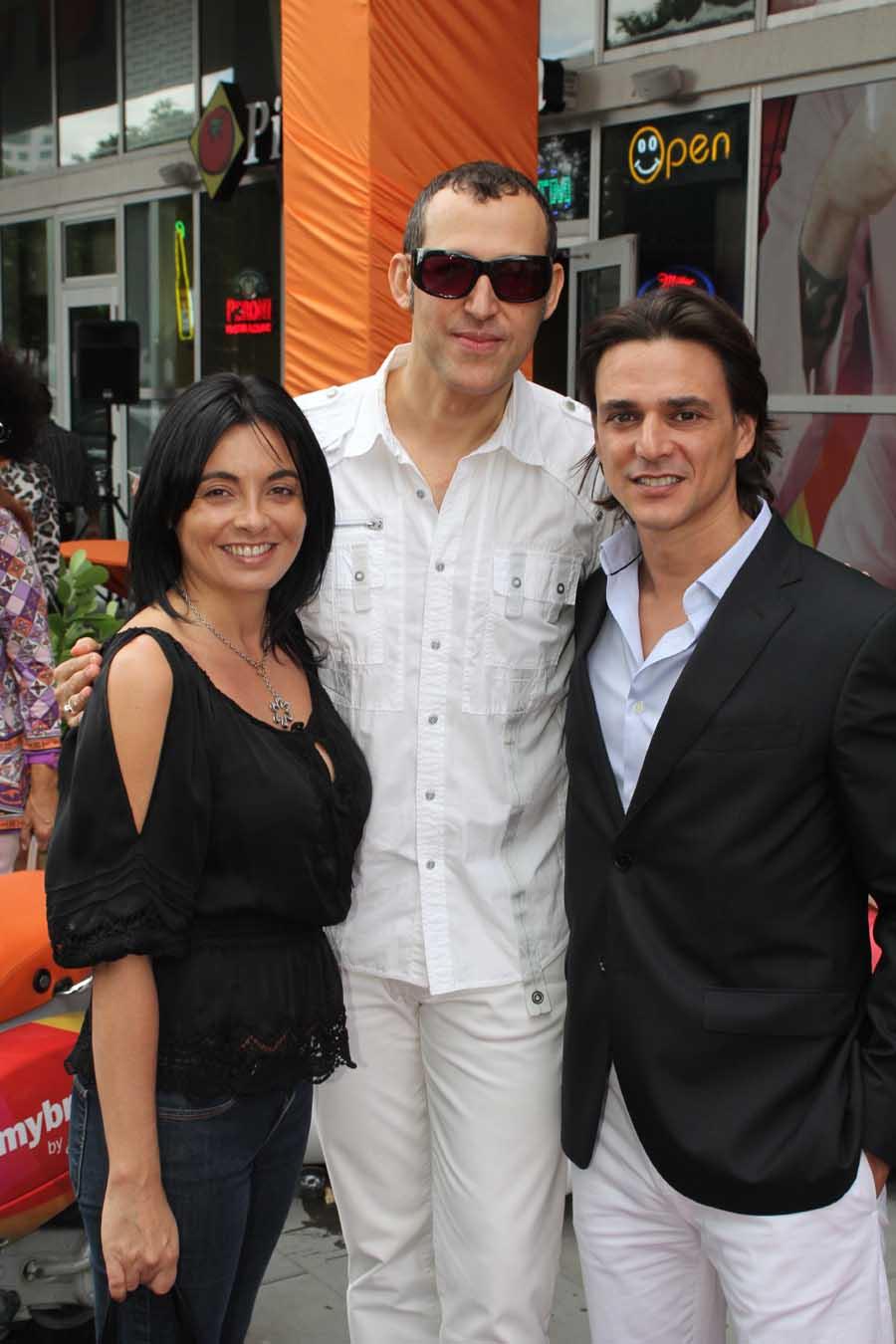 Lera Visconti, Karim Rashid, Paolo Visconti
