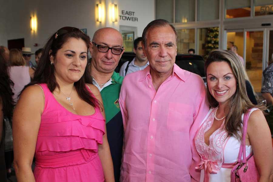 Maria LaViosa,  Jorge Perez, Nirka Burns