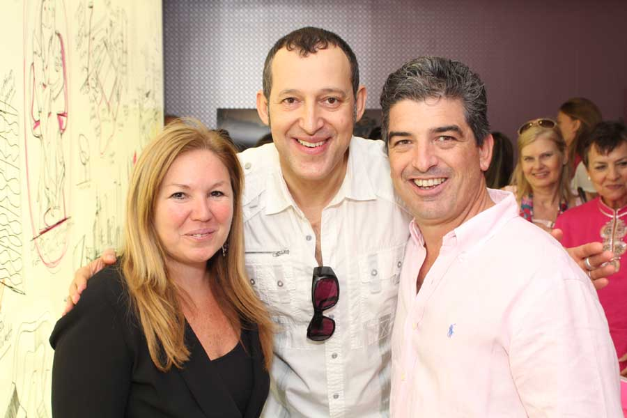 Marisa Koifman, Karim Rashid Carlos Rosso