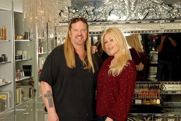 Michael Boychuck and Shanna Moakler