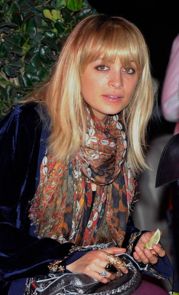 Nicole Richie at Chateau