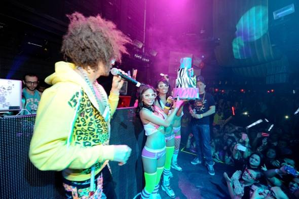 Redfoo_Party Rock_Cake_Marquee