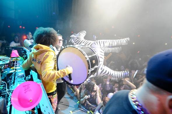 Redfoo_marching band_Marquee