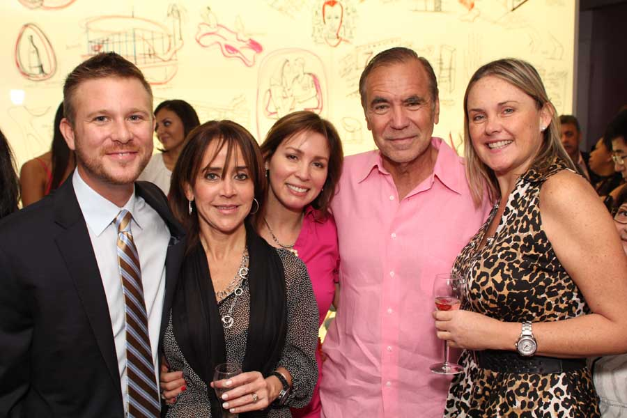 Richard Greenfield, Ines Gondica, Graicy Carvajal, Jorge Perez, Carolina Pappe