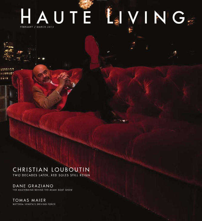 Haute Living Cover
