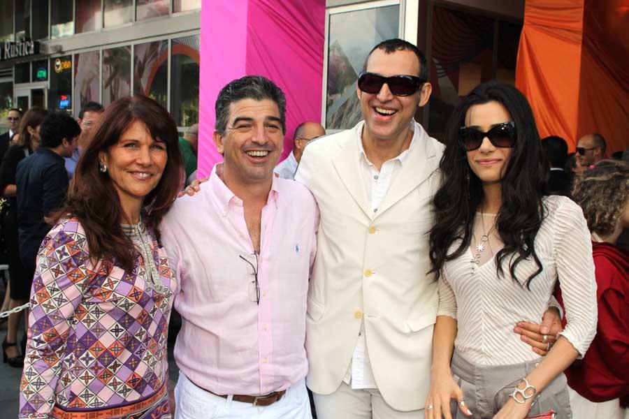 Sonia Figueroa, Carlos Rosso, Karim & Ivana Rashid