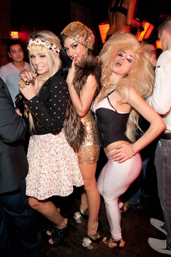 Angel Porrino, Melody Sweets and Penny Pibbets