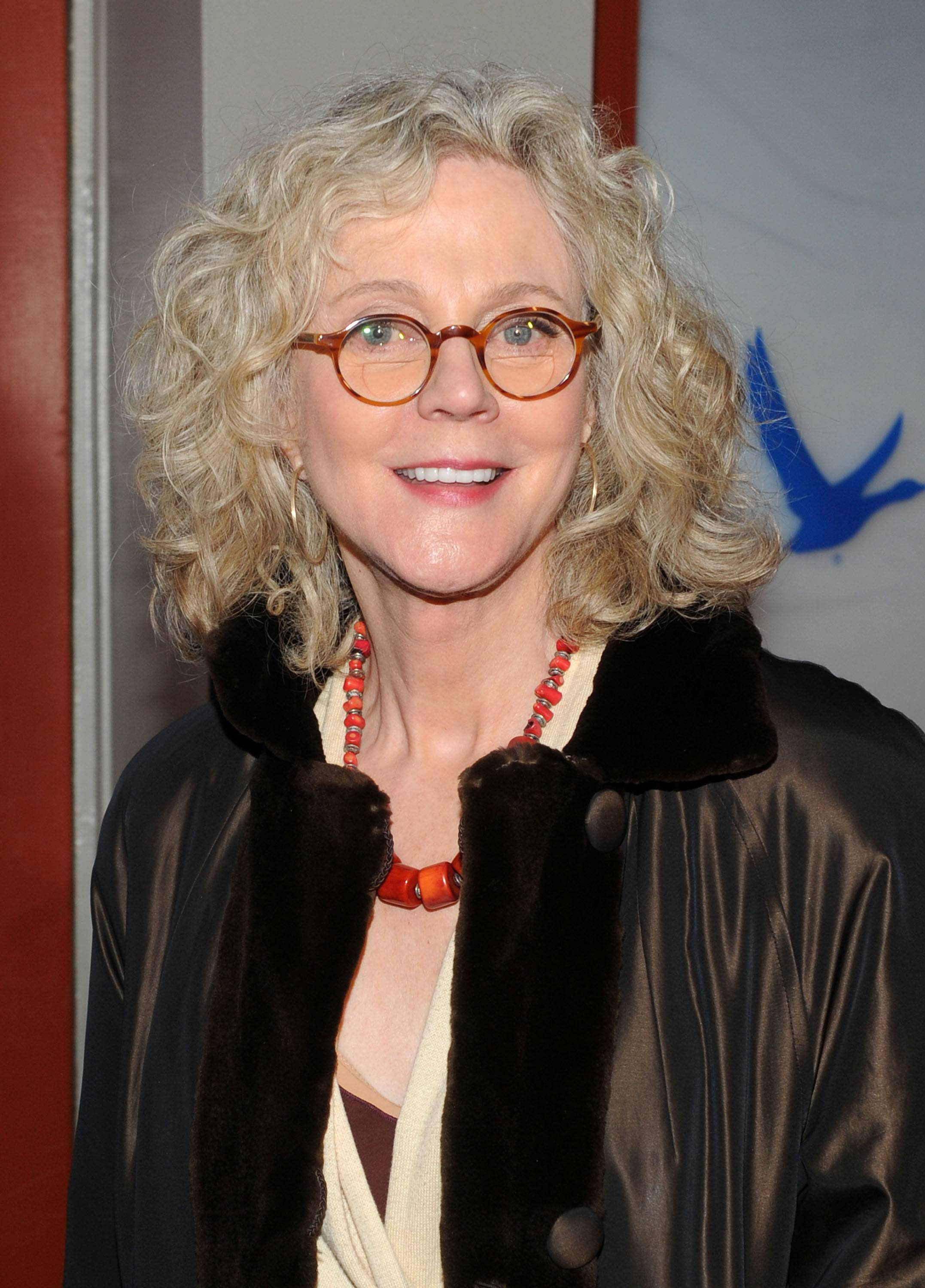 Blythe Danner at the GREY GOOSE Blue Door at Sundance on Friday 1-20-12
