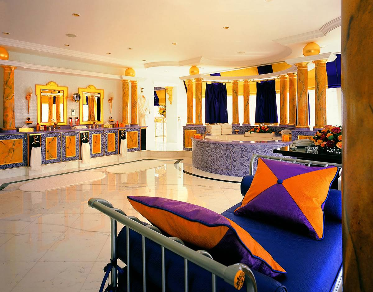 Top 5 presidential suites in dubai haute living for Burj al arab rooms