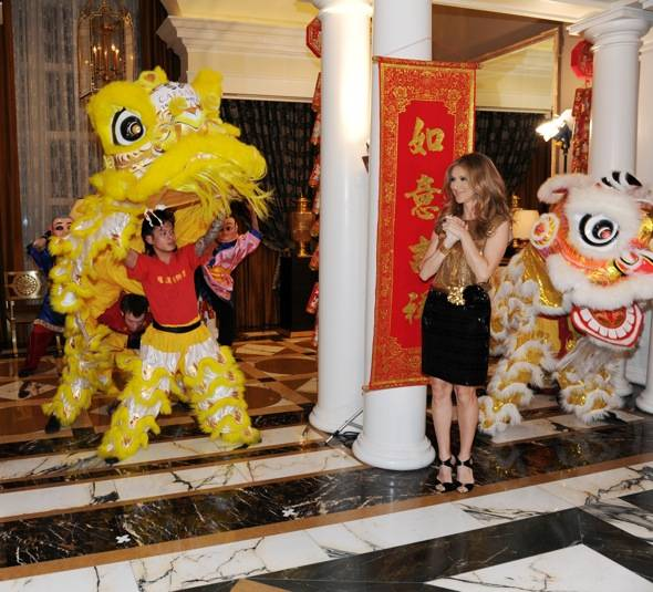 Celine Dion Chinese New Year