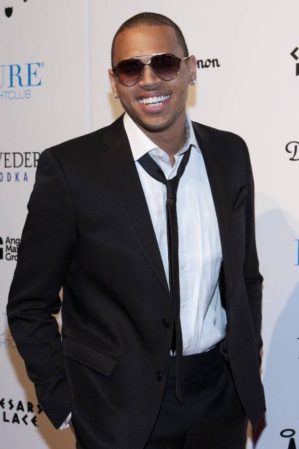 Chris Brown_Red Carpet 2_PURE Nightclub_12.31.11
