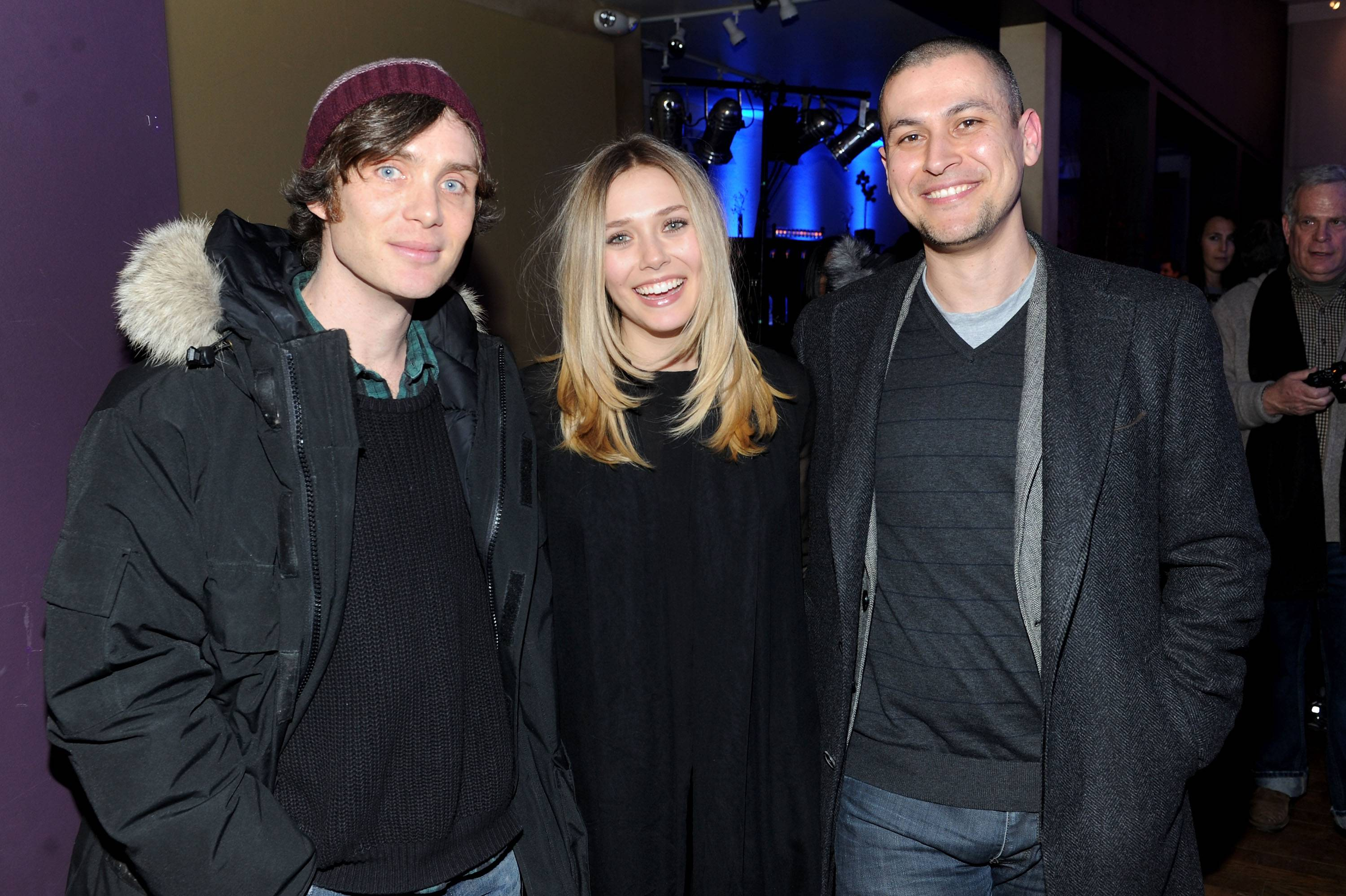 Cillian Murphy, Elizabeth Olsen and Rodrigo Cortes at the