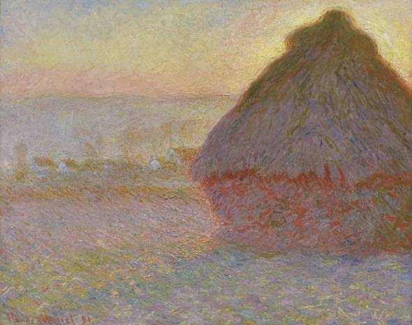 Claude Monet, Grainstack (Sunset), 1891