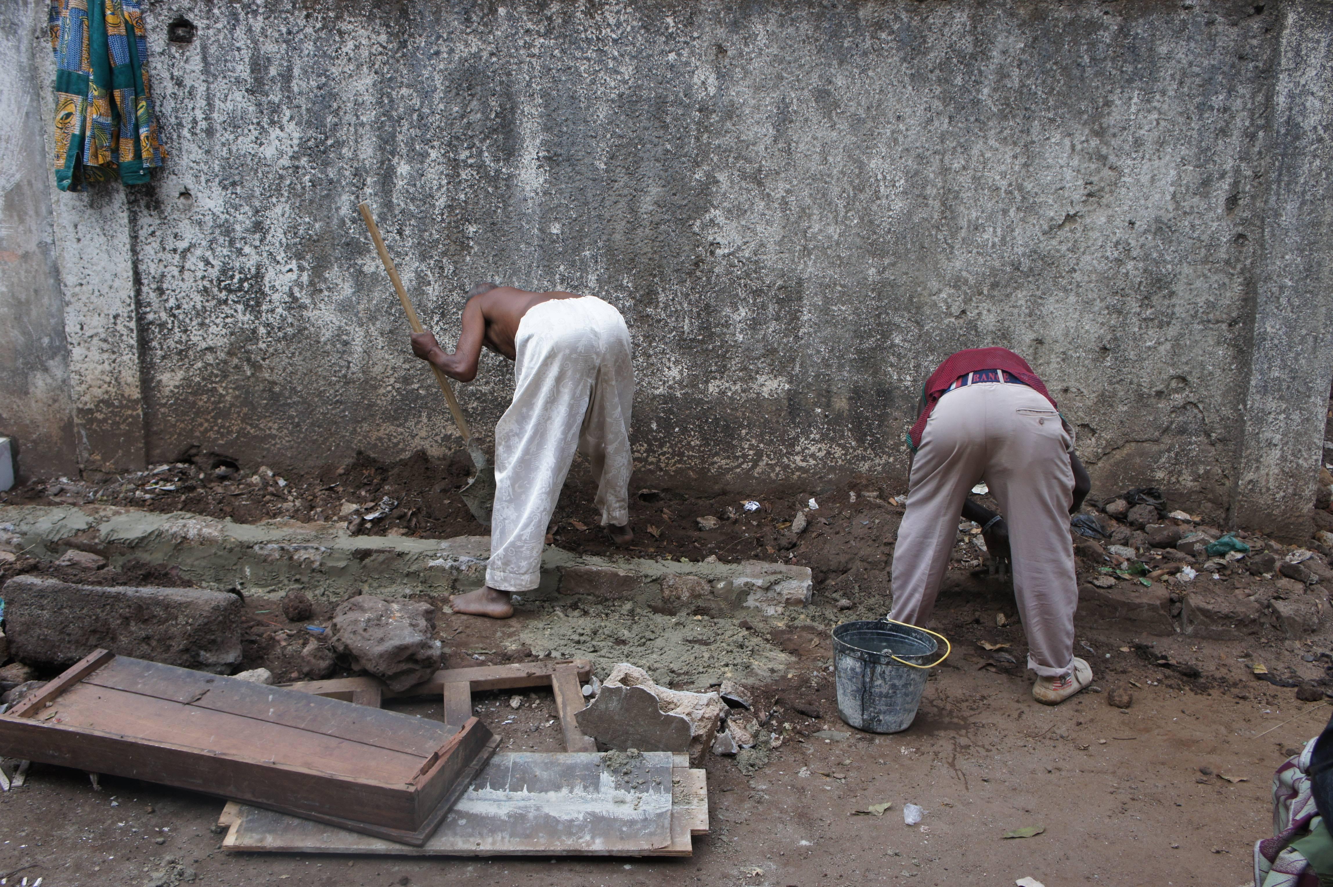Tombo II Primary School Administrators Working