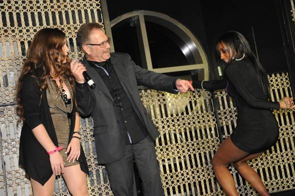 Dirty Marie_Ronnie Mund and Hot Chick of the Week winner Tracy Patrick at LAVO