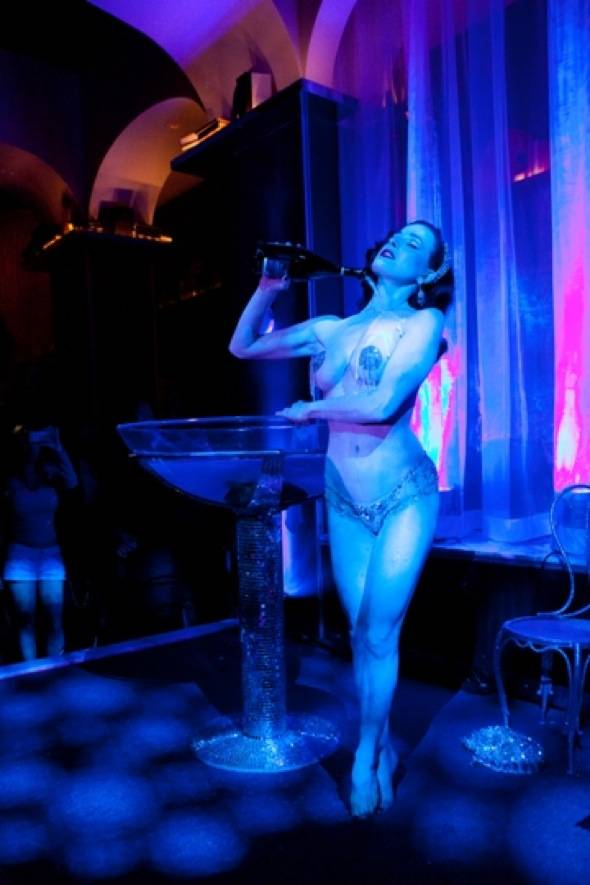 Dita Von Teese Performing at Hyde Bellagio, Las Vegas, 1.14.12 (4)