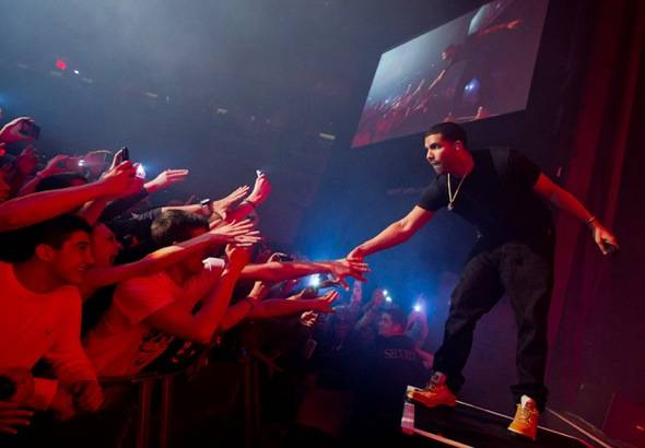Drake at The Joint. Photo by Erik Kabik