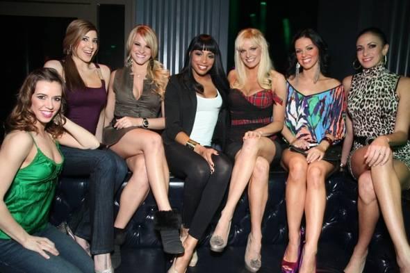 FANTASY girls at their VIP table