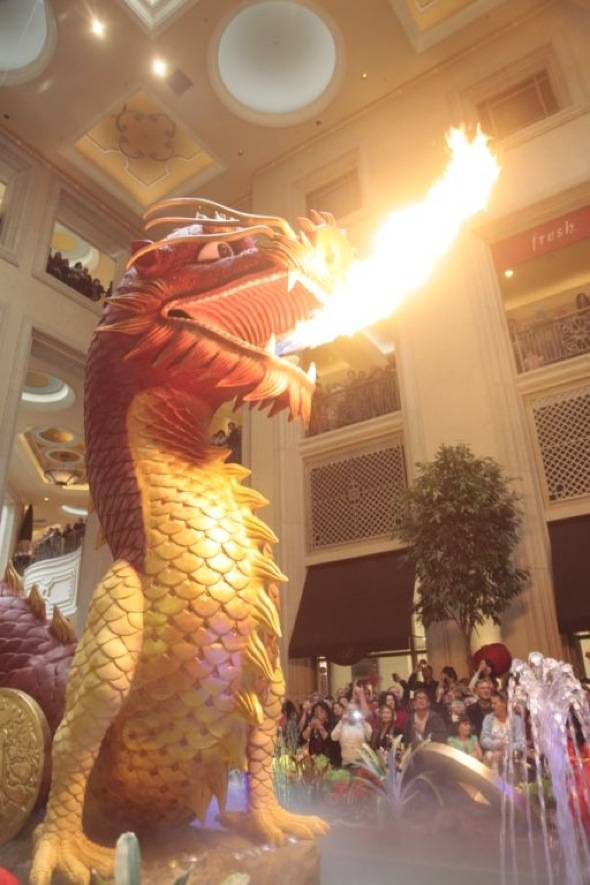 Fire from below, ImagesOfVegas.comy