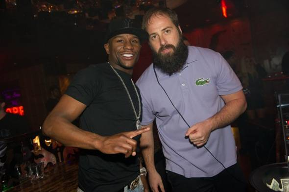 Floyd Mayweather_DJ Fred Matters_Marquee_NYE