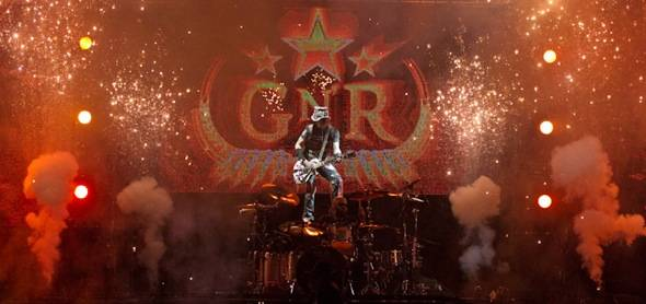 Guns N' Roses at The Joint. Photo by Erik Kabik
